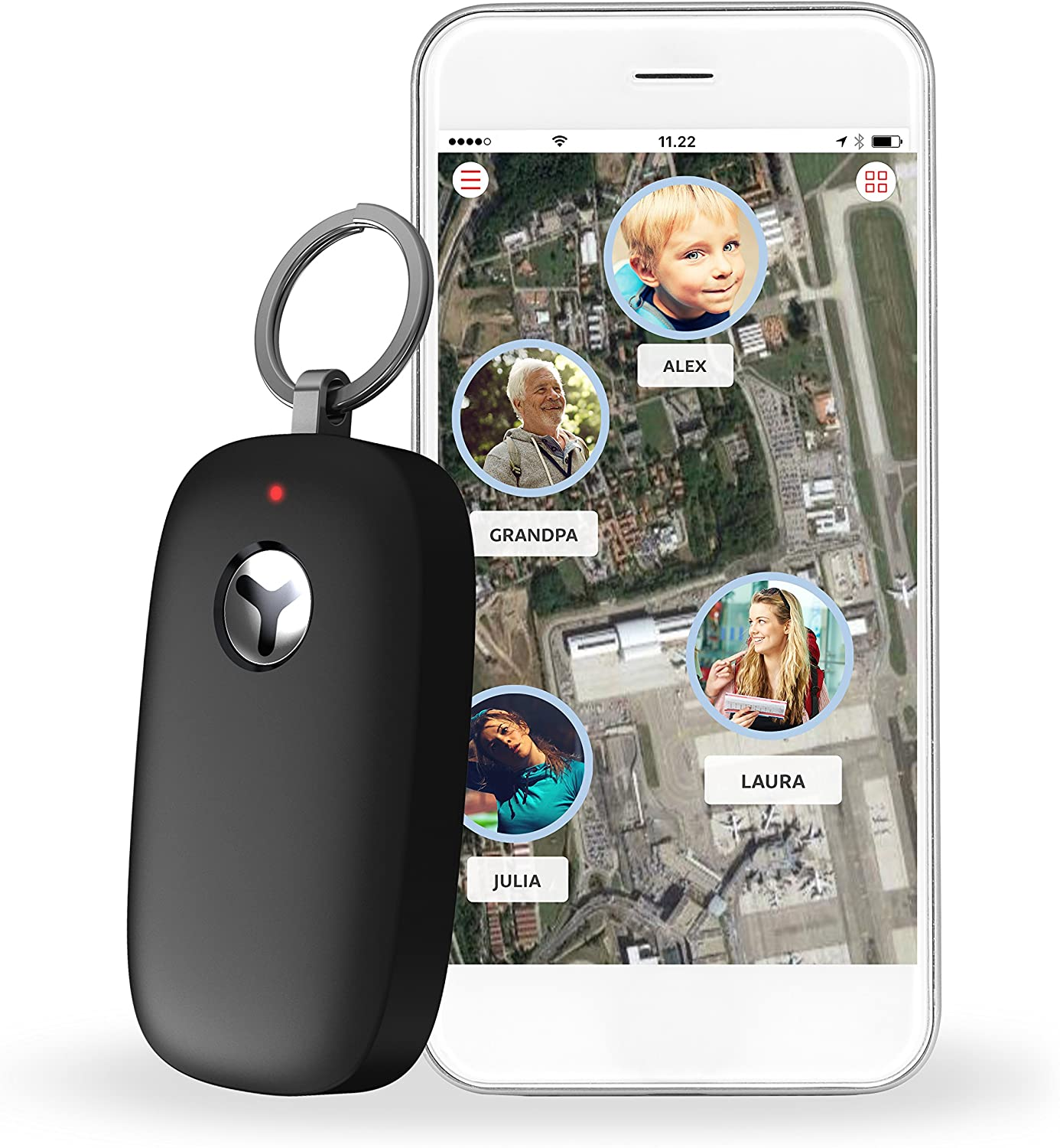 Yepzon Freedom GPS tracker with SOS button for Elderly